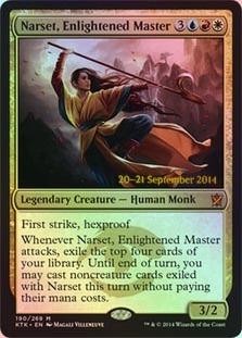 Narset, Enlightened Master (Khans of Tarkir Prerelease)