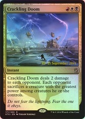 Crackling Doom - Khans of Tarkir Prerelease Promo