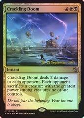 Crackling Doom (Khans of Tarkir Prerelease)