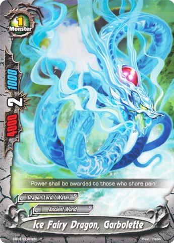 Ice Fairy Dragon, Garbolette - EB01/0041 - C