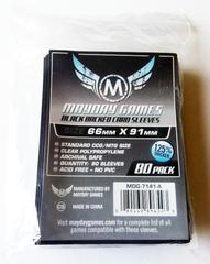 80 ct MTG Pro Card Sleeves - Black