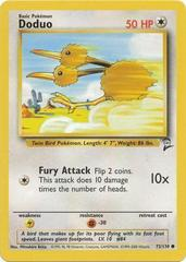 Doduo - 72/130 - Common - Unlimited Edition on Channel Fireball