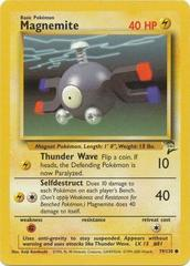 Magnemite - 79/130 - Common - Unlimited Edition on Channel Fireball