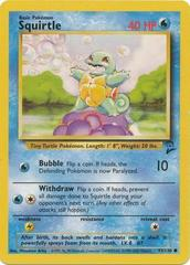 Squirtle - 93/130 - Common - Unlimited Edition