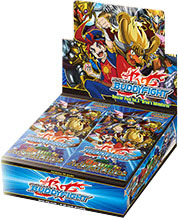 Buddyfight BFE-BT03 Drum's Adventures Booster Box