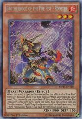 Brotherhood of the Fire Fist - Rooster - MP14-EN120 - Secret Rare - Unlimited