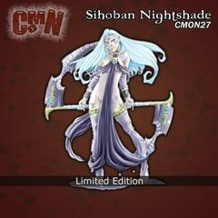 CMON Contest 13 - Sihoban Nightshade from Dragon Blood Miniatures (Limited Edition)