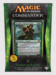 MTG Commander 2014 Deck: Guided by Nature