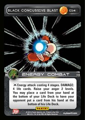 Black Concussive Blast C14