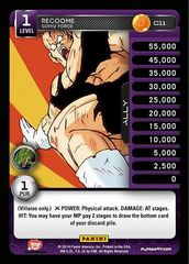 Recoome - Ginyu Force - Foil