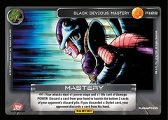 Black Devious Mastery R122 - Foil on Channel Fireball