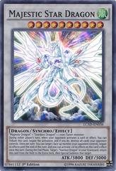 Majestic Star Dragon - LC5D-EN036 - Super Rare - 1st Edition