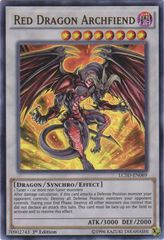 Red Dragon Archfiend - LC5D-EN069 - Ultra Rare - 1st Edition