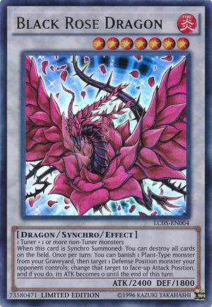 Black Rose Dragon - LC5D-EN099 - Common - 1st Edition