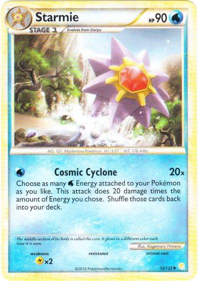 Starmie - 53/123 - Uncommon