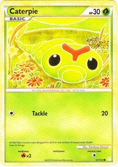 Caterpie - 57/123 - Common on Channel Fireball