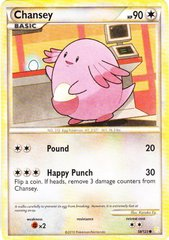 Chansey - 58/123 - Common on Channel Fireball