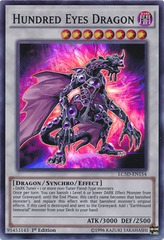 Hundred Eyes Dragon - LC5D-EN154 - Super Rare - 1st Edition