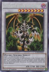 Thought Ruler Archfiend - LC5D-EN233 - Secret Rare - 1st Edition