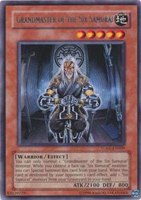 Grandmaster of the Six Samurai - TU01-EN009 - Rare - Unlimited Edition