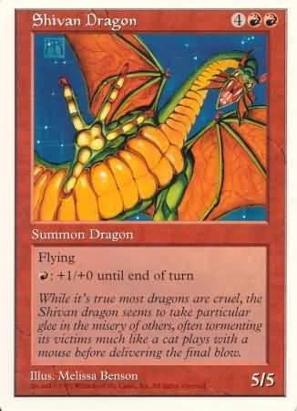 Oversized - Shivan Dragon