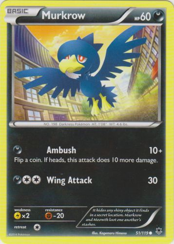 Murkrow - 51/119 - Common