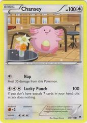 Chansey - 80/119 - Common on Channel Fireball