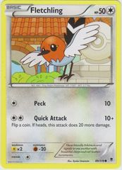 Fletchling - 89/119 - Common on Channel Fireball