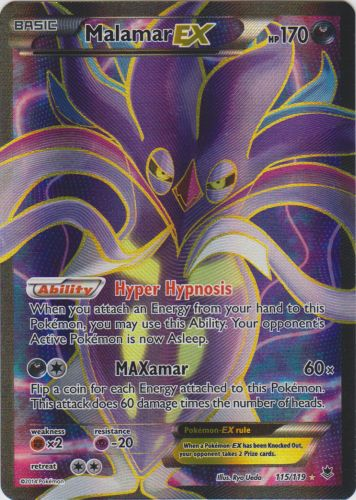 Malamar-EX - 115/119 - Full Art