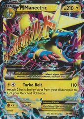 Mega-Manectric-EX - 24/119 - Rare Holo EX