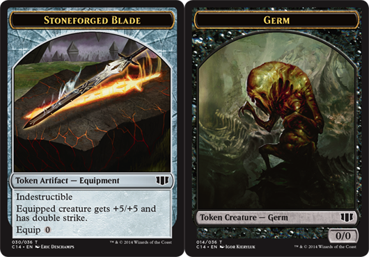 Stoneforged Blade Token // Germ Token