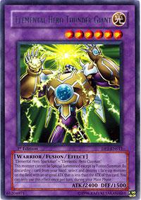 Elemental Hero Thunder Giant - DP1-EN011 - Rare - 1st Edition