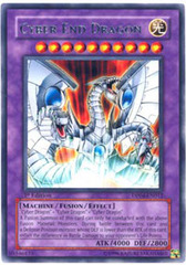 Cyber End Dragon - DP04-EN012 - Rare - 1st Edition