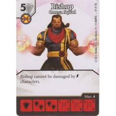 Bishop - Omega Squad (Die  & Card Combo)