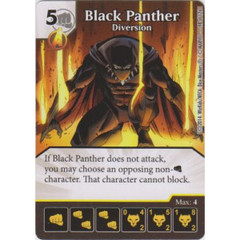 Black Panther - Diversion (Die  & Card Combo)