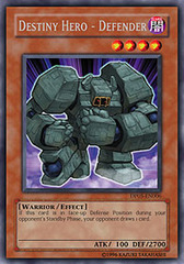 Destiny Hero - Defender - DP05-EN006 - Rare - 1st Edition on Channel Fireball