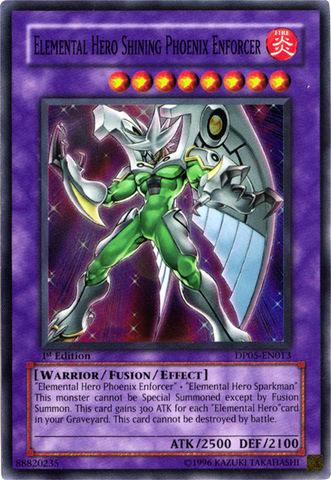 Elemental Hero Shining Phoenix Enforcer - DP05-EN013 - Super Rare