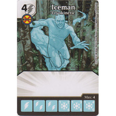 Iceman - Cryokinetic (Die  & Card Combo)
