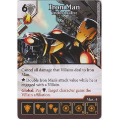 Iron Man - Industrialist (Die  & Card Combo)