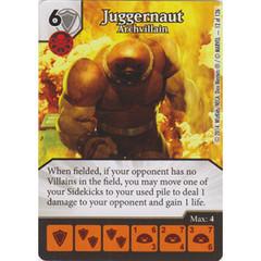 Juggernaut - Archvillain (Die  & Card Combo)