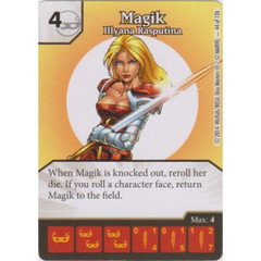 Magik - Illyana Rasputina (Die  & Card Combo)