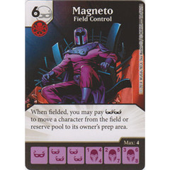 Magneto - Field Control (Die  & Card Combo)