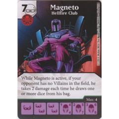 Magneto - Hellfire Club (Die  & Card Combo)