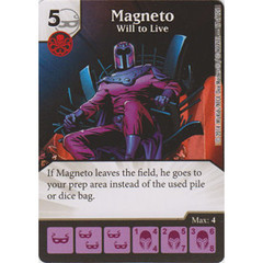Magneto - Will to Live (Die  & Card Combo)