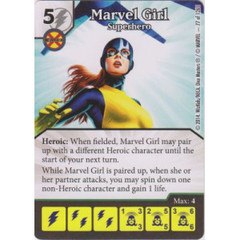 Marvel Girl - Superhero (Die  & Card Combo)
