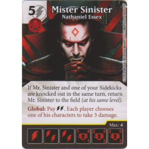 Mister Sinister - Nathaniel Essex (Die  & Card Combo)