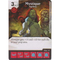 Mystique - Ageless (Die  & Card Combo)