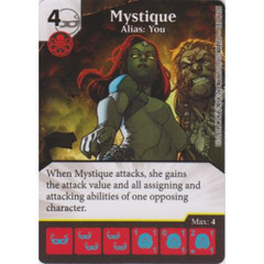 Mystique - Alias: You (Die  & Card Combo)