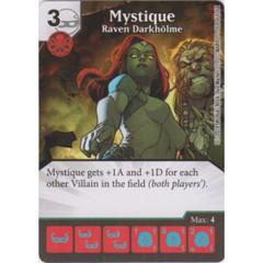 Mystique - Raven Darkholme (Die  & Card Combo)