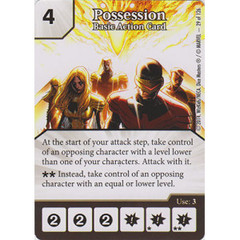 Possession - Basic Action Card (Die  & Card Combo)